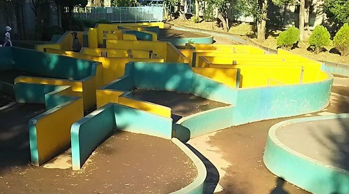 羽根木公園,子連れ,迷路,プレイパーク,駐車場,hanegikouenmeiro18102701