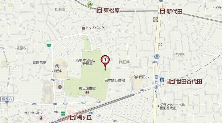 羽根木公園,子連れ,迷路,プレイパーク,駐車場,hanegikouentizu181027