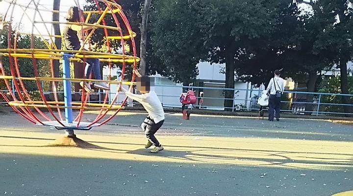 羽根木公園,子連れ,迷路,プレイパーク,駐車場,hanegikouenyuugu18102701