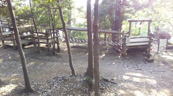 埼玉朝霞,滝の根公園,アスレチック,takinonekouenathletic05