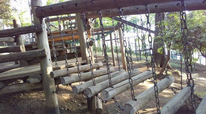 埼玉朝霞,滝の根公園,アスレチック,takinonekouenathletic07