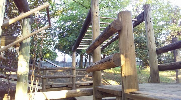 埼玉朝霞,滝の根公園,アスレチック,takinonekouenathletic14