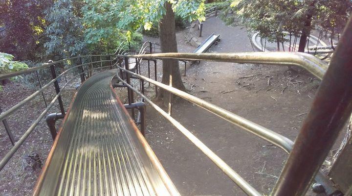 埼玉朝霞,滝の根公園,アスレチック,takinonekouenathleticsuberidai01